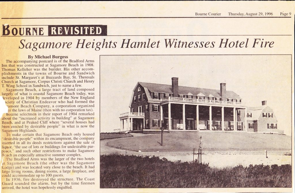 Sagamore Heights Hamlet Witnesses Hotel Fire